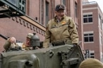 WWII tank gunner, now 95, pays tribute to the highest-ranking American killed in the European theater