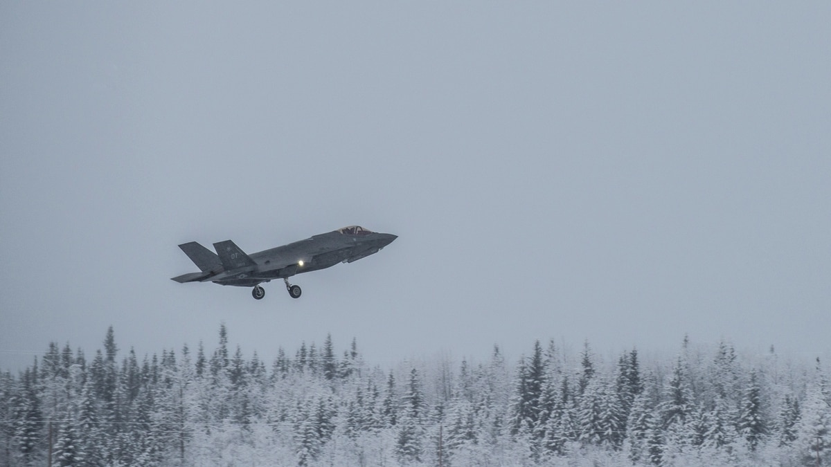 The F-35 has to keep landing in cold weather  Here's the
