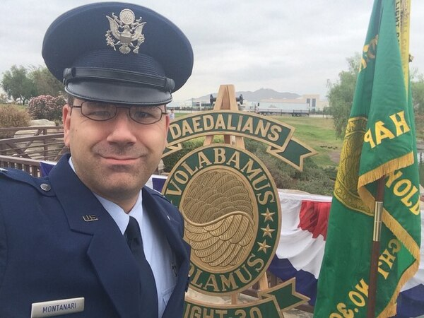 Despite there being a pressing need for Jewish chaplains, the Air Force denied Montanari's application without providing an explanation, according to his attorneys. (Courtesy of FirstLiberty.org)
