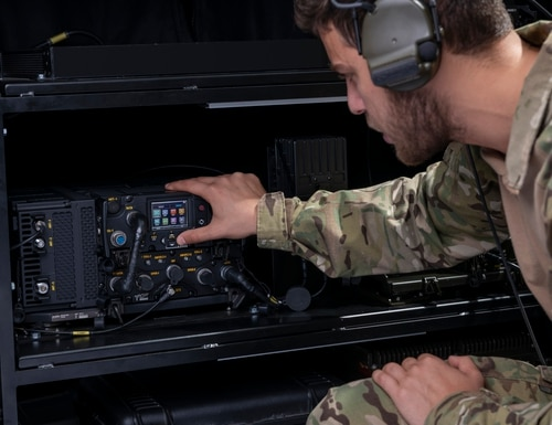 Spain has ordered the Israel-made E-LynX software-defined radio. (Courtesy of Elbit Systems)