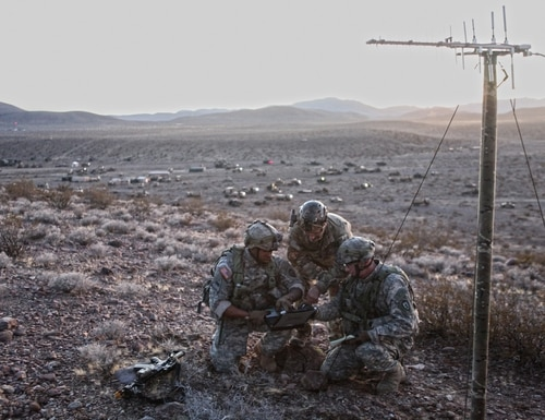 Lockheed recently created a new business it's calling spectrum convergence. (Sgt. Michael Spandau/Army)