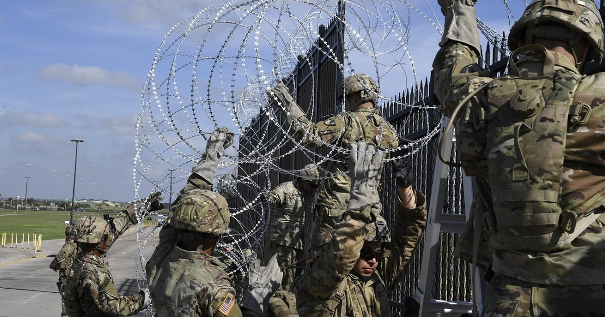 DoD drops border deployment name, no longer called 'Faithful Patriot'