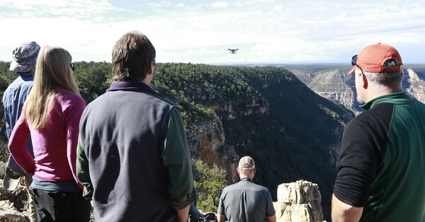 The National Park Service graduated its first class of unmanned aerial system operators in September 2016 out of a training program at Grand Canyon National Park. (Courtesy National Park Service)