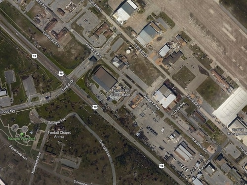 The National Oceanic and Atmospheric Administration is collecting and posting aerial images of the damage from Hurricane Michael. (NOAA)