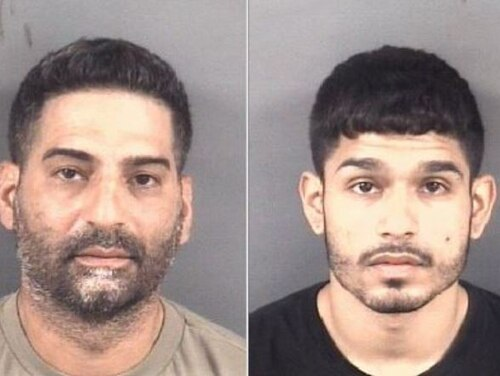 Martin Acevedo III, left, and Javed Josue Acevedo-Ramos were charged with trafficking a schedule II controlled substance. (Cumberland County Sheriff's Office)