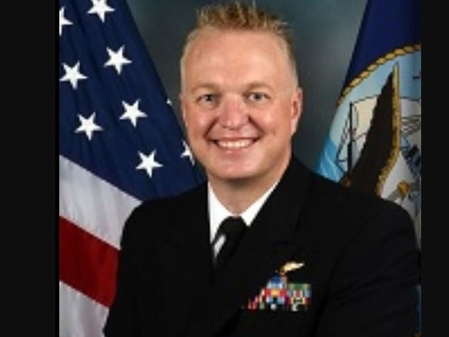 Cmdr. John M. Neuhart is facing potential court-martial in connection to the incident, which allegedly took place at the woman's San Diego residence after the two were out drinking. (Navy)