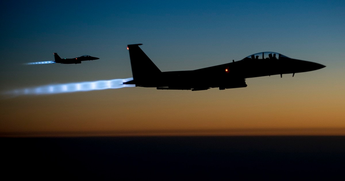 Airstrikes against ISIS in Syria up in recent weeks