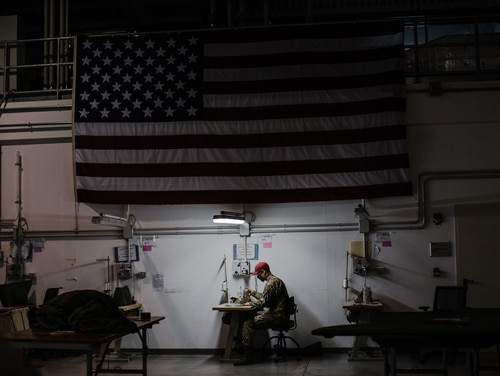The House's forthcoming NDAA may include a billion-dollar pandemic response and preparedness fund, in part to boost domestic production of medical equipment, like ventilators and face masks. (Spc. Ryan Lucas/U.S. Army)