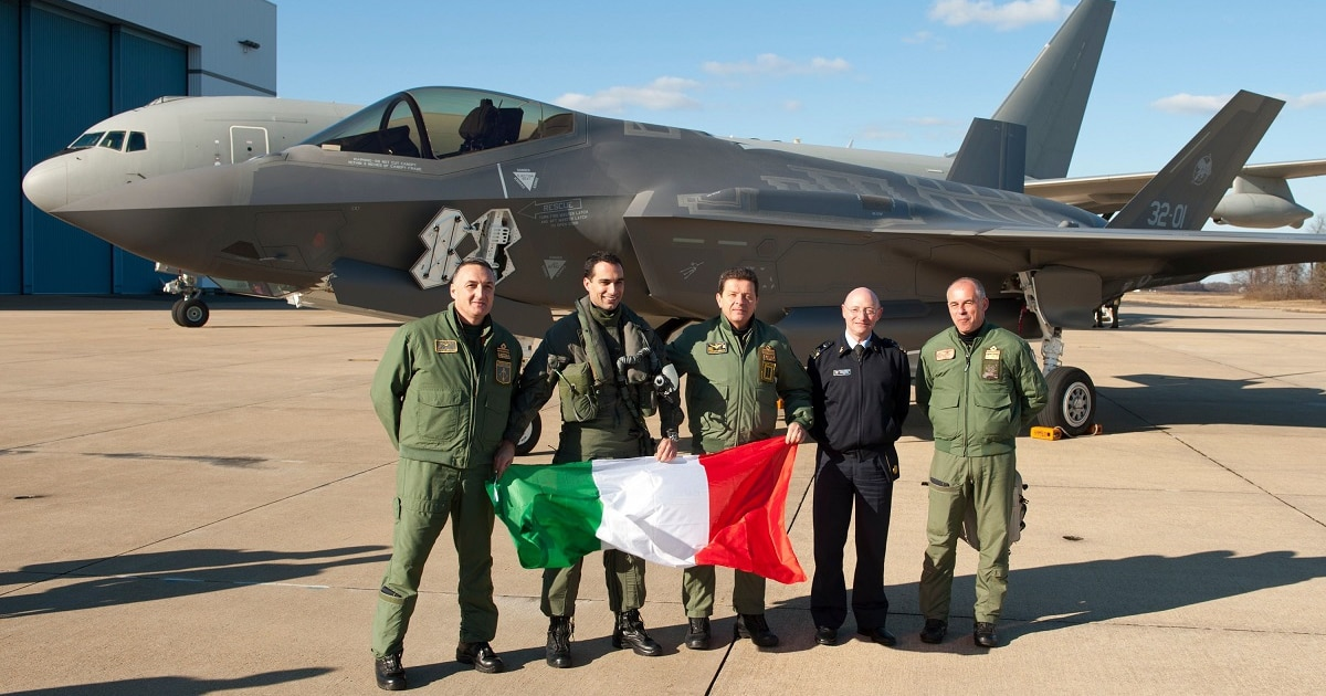 Italy Navy, Air Force debate where to base F-35Bs