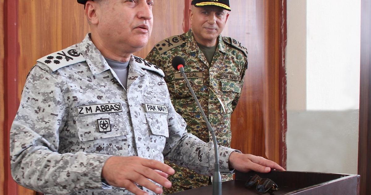 Pakistan's naval chief talks regional security and tech wish list