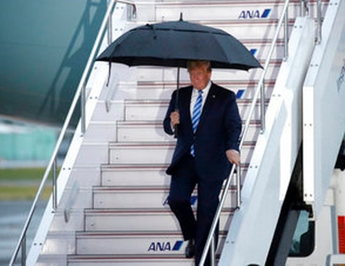 The Senate fell short Friday, in a 50-40 vote, on an amendment to a sweeping Defense bill that would require congressional support before President Donald Trump orders strikes against Iran. . (AP Photo/Jae C. Hong)