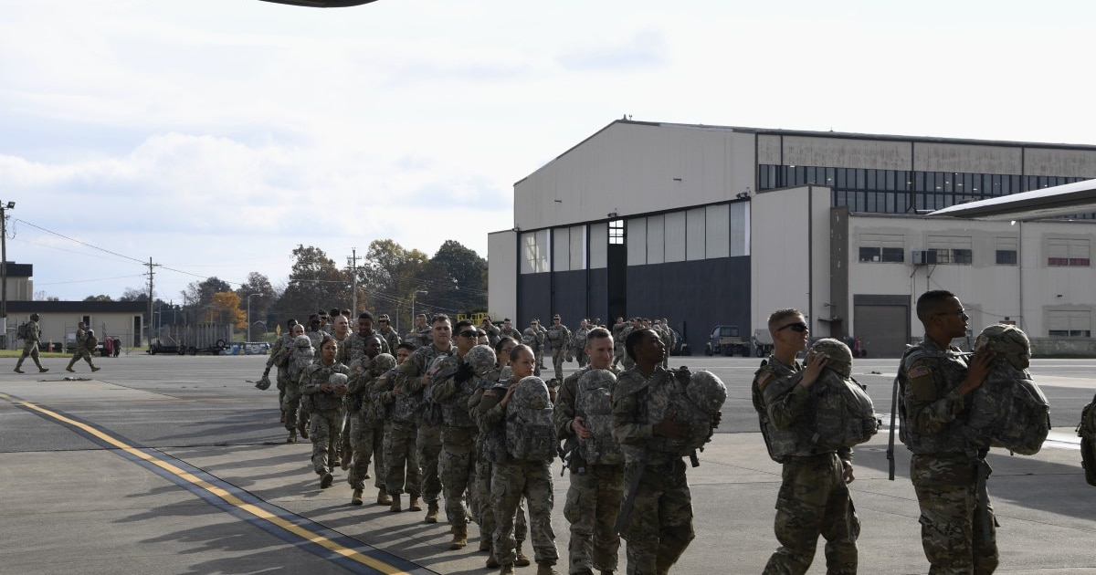 Here's the list of military units headed to the border
