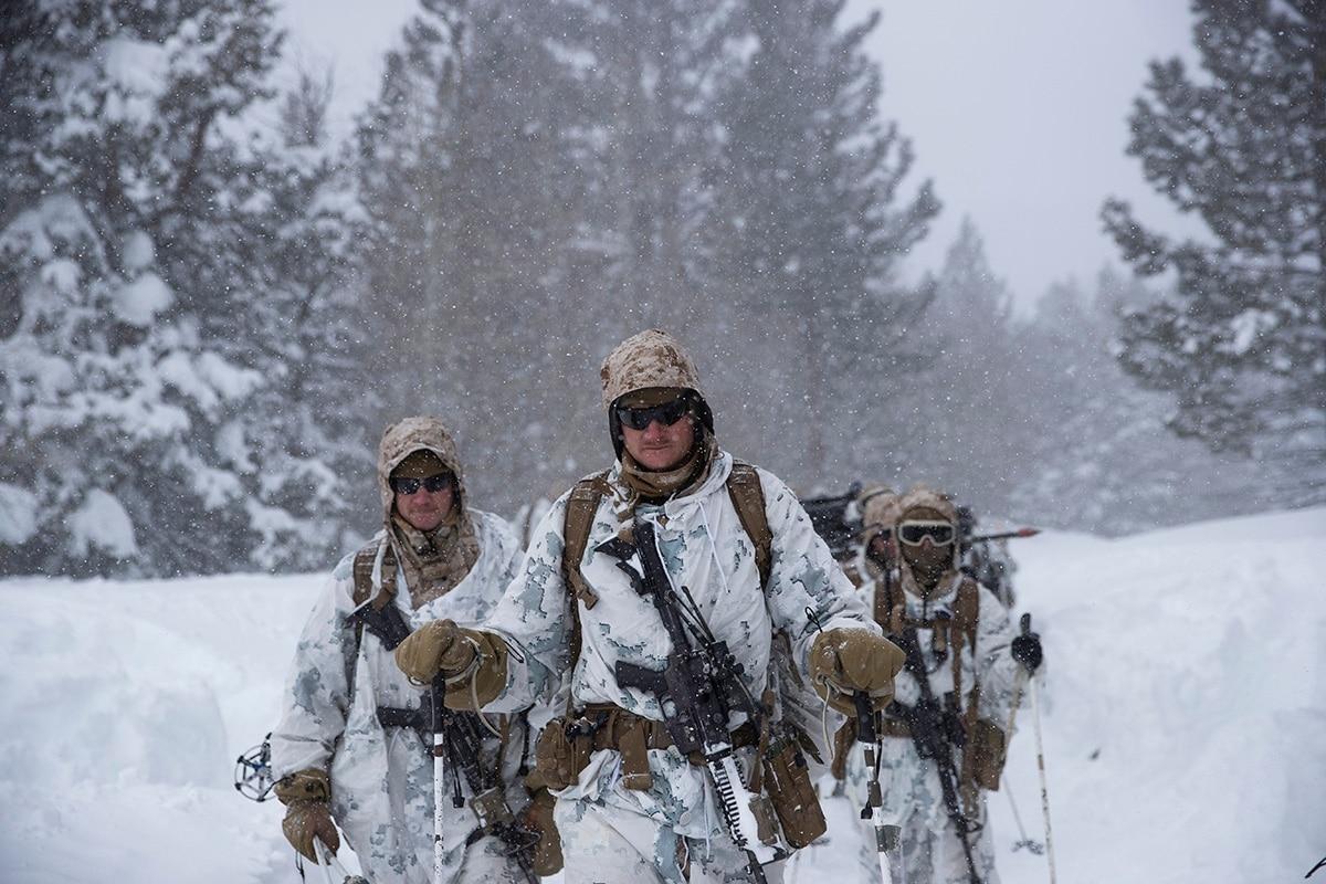 U.S. Marines • Live Fire Range • Marine Corps Mountain Warfare Training Center