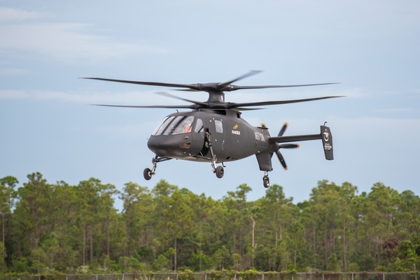 Sikorsky's S-97 Raider in flight. Photo courtesy of Sikorsky/Lockheed Martin