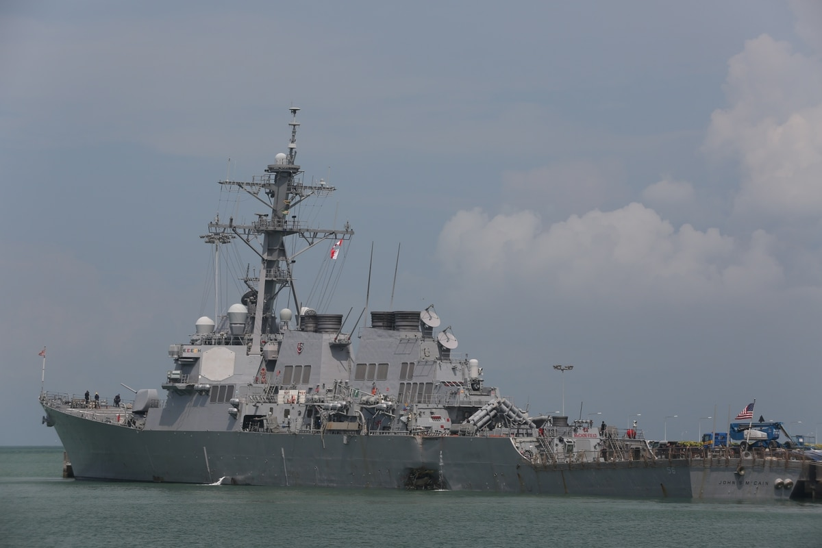 One year later, McCain sailors and families locked in legal