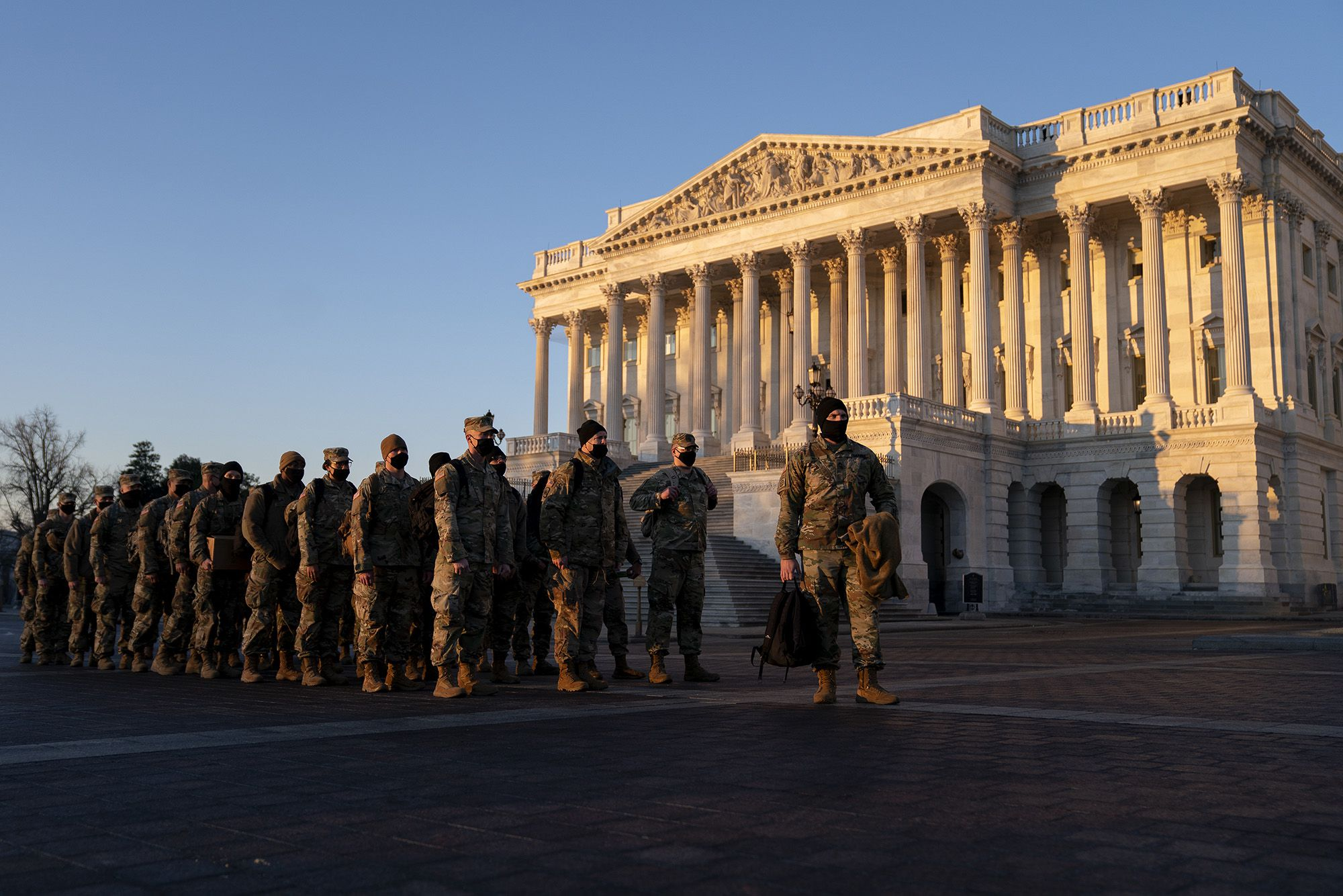 Governors make National Guard troops available to DC for inauguration