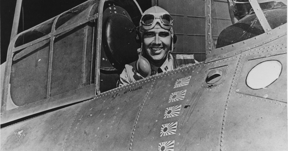 The incredible life and terrible death of the Navy's first World War II ace