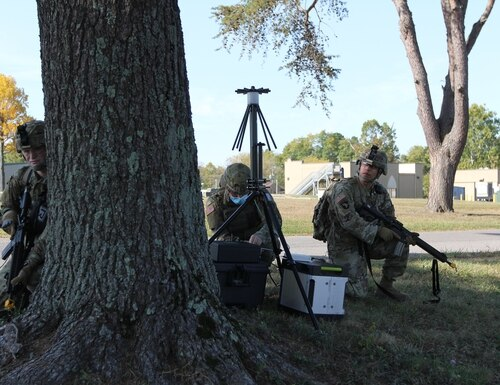 The 915th Cyber Warfare Battalion conducted its first exercise aimed at testing and training its concepts. (Steven Stover/U.S. Army)
