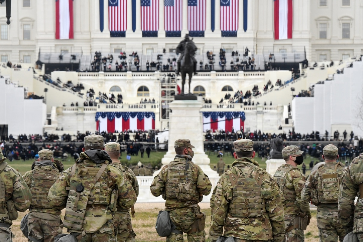The National Guard had a quiet day in DC standing post against threats they  helped prevent