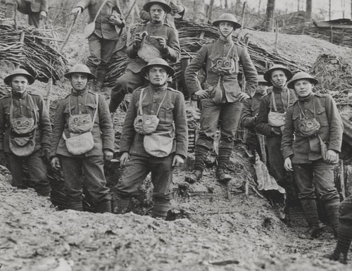 The National WWI Museum and Memorial recently unveiled a collection of 500 GIFs from the Great War. (United States Marine Corps Archives & Special Collections)