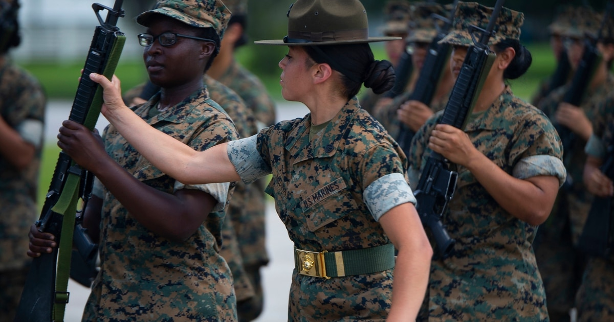 The Marine Corps wants a study on how to make recruit training coed