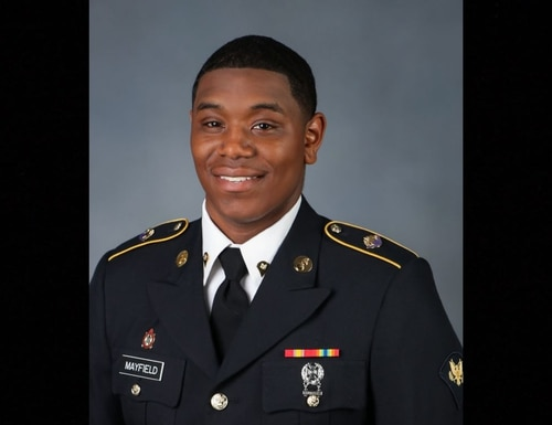 Spc. Henry Mayfield Jr. died during an al-Shabab attack on Jan. 5, 2020, in Manda Bay, Kenya. (Facebook)