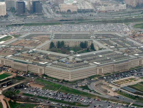 This March 27, 2008, file photo shows the Pentagon in Washington. (Charles Dharapak/AP)