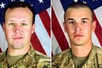 DoD identifies soldiers killed in suicide bombing on Bagram Airfield