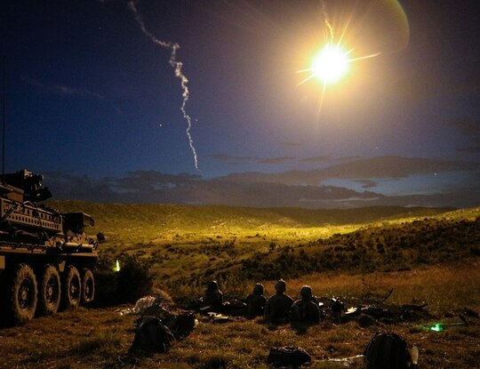 Army Stryker Brigade Combat teams are expected to add engineers, electronic warfare, more artillery and robot vehicles for the future fight. (Army)