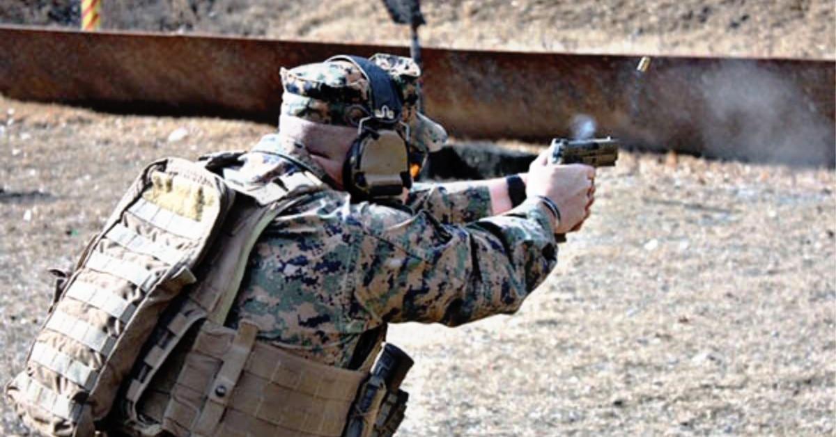 U S  Marine Corps adopts M18 Sig Sauer handgun