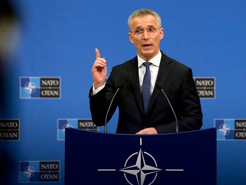 The head of the alliance has said NATO members must be willing to use cyber capabilities. (Virginia Mayo/AP)
