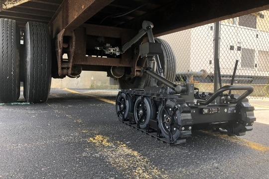 In October 2017, Endeavor secured a contract to provide the service a platform it calls Centaur: a medium-sized robot to provide standoff capability to identify and neutralize explosive hazards. (Endeavor Robotics)