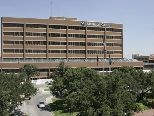 As of July 1, the South Texas Veterans Health Care System in San Antonio had 330 patients with active cases of coronavirus, the most of any VA hospital in the country. (Photo courtesy VA)