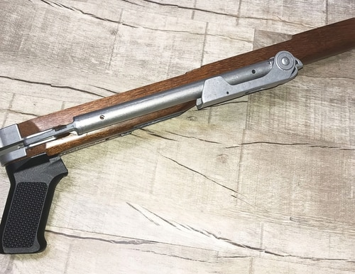Samson Manufacturing's new A-TM stock for the Ruger Mini-14 is a nearly perfect reproduction of the original.