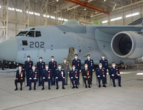 Japan has inducted an RC-2 into service. (Courtesy of the Japan Air-Self Defense Force)