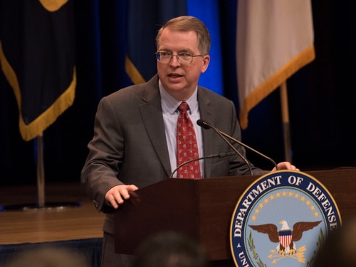 David Norquist, the Pentagon's acting deputy secretary of defense, said the brewing fight over the department's financial flexibility could limit its ability to respond to a changing security environment. (Lisa Ferdinando/U.S. Defense Department)