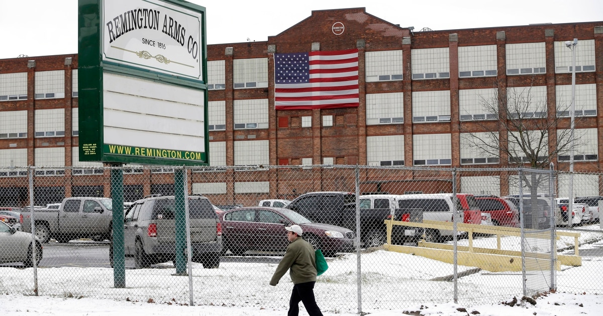 Remington Arms offers manufacturing space to produce medical supplies needed to fight Covid-19
