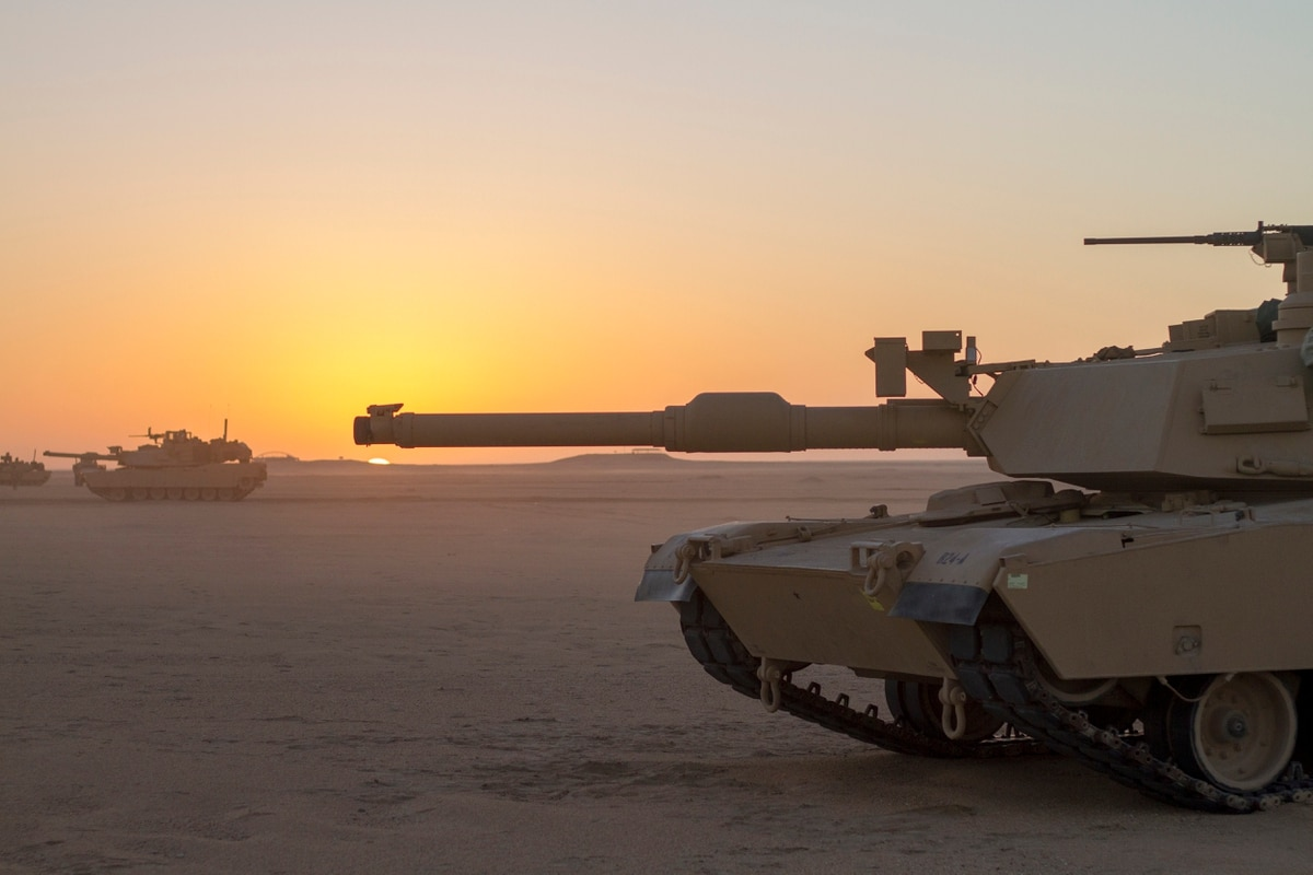Largest Guard armored unit deployment in a decade wraps up