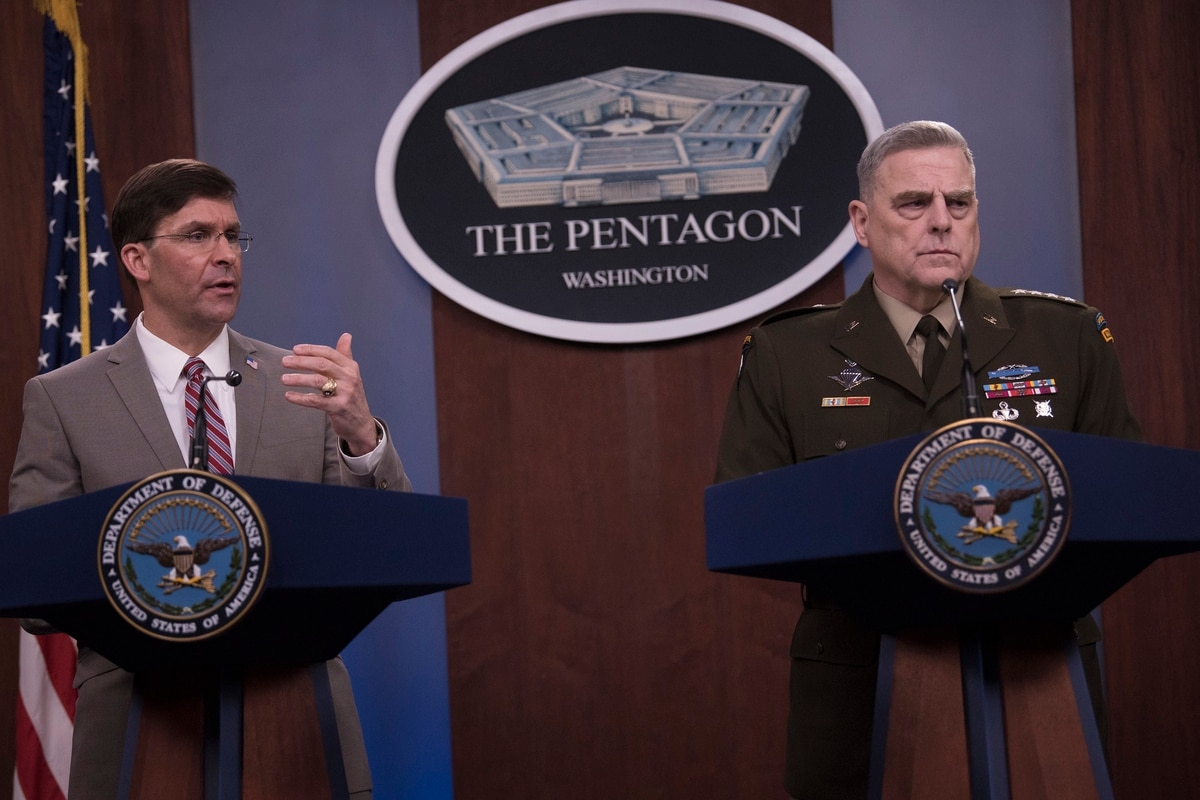 Top Marine Corps Officials Brief Media on COVID-19 – Pentagon News Conference, March 26, 2020.