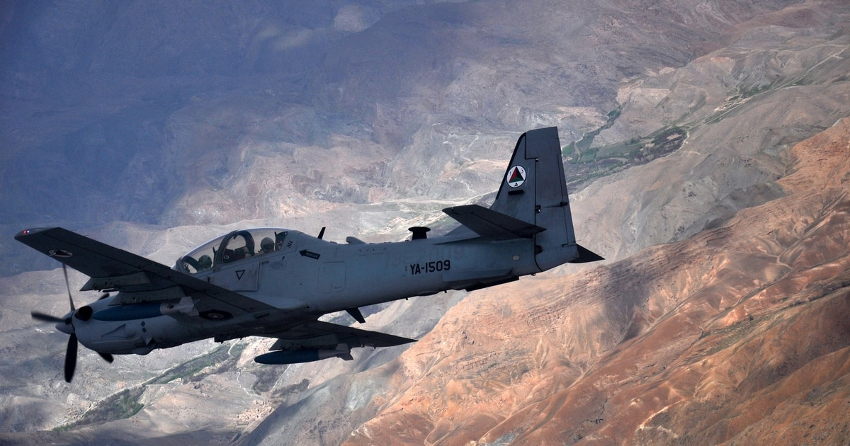 Skyraider 2? The Air Force may bring back Vietnam-style combat plane