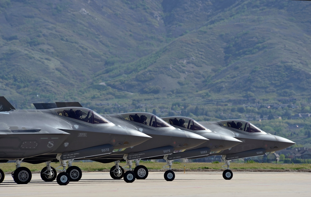 Air Force Declares F 35a Ready For Combat