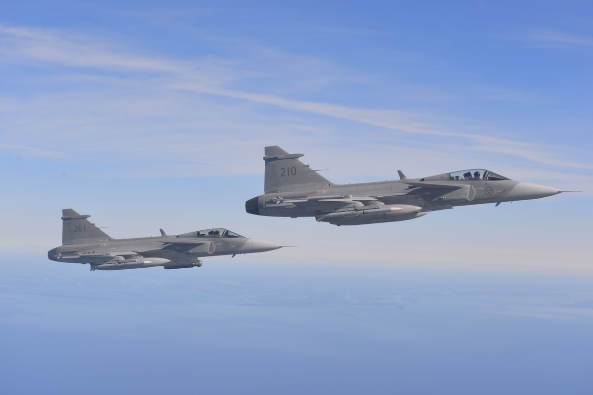 Saab's Gripen Enters a New High-fly Zone