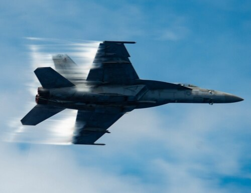 An F/A-18E Super Hornet crashed Tuesday morning near Naval Air Weapons Station China Lake, California. The pilot ejected, officials said.