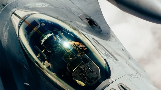 New cyber teams will defend things like the avionics in a fighter jet. (Staff Sgt. Jordan Castelan/Air Force)