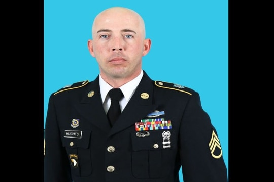 Staff Sgt. Randall S. Hughes was sentenced to more than 13 years in prison following a series of rapes and assaults. (Army)