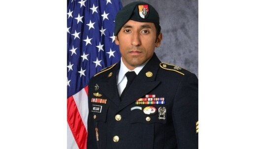 Staff Sgt. Logan Melgar was found dead of strangulation on June 4, 2017 in housing he shared with three other special operations forces personnel in Bamako, Mali. (Army)