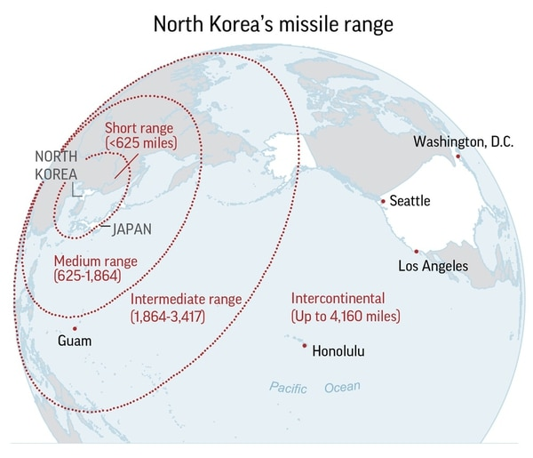 Pentagon believeS the July 4 missile was an ICBM.