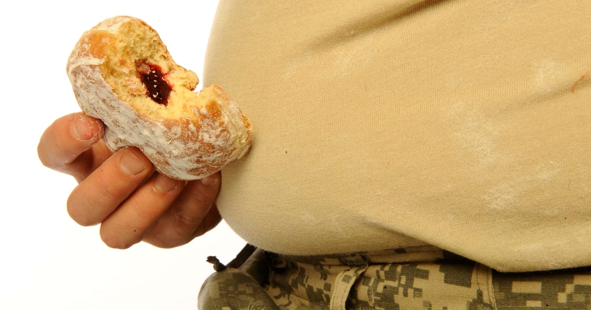 The American diet now is a national security threat