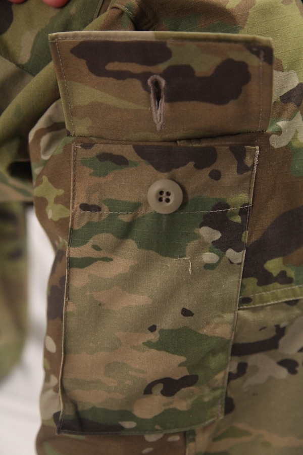 Army Combat Uniform using the new Operational Camouflage Pattern.