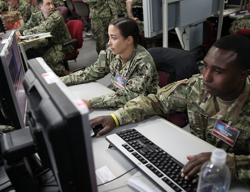 Cyber Command has created a pair of integration offices aimed at synchronizing systems and capabilities built across the services for cyber warriors. (U.S. Cyber Command)